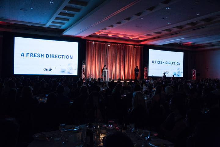 A&W presentation at Marketer of the Year