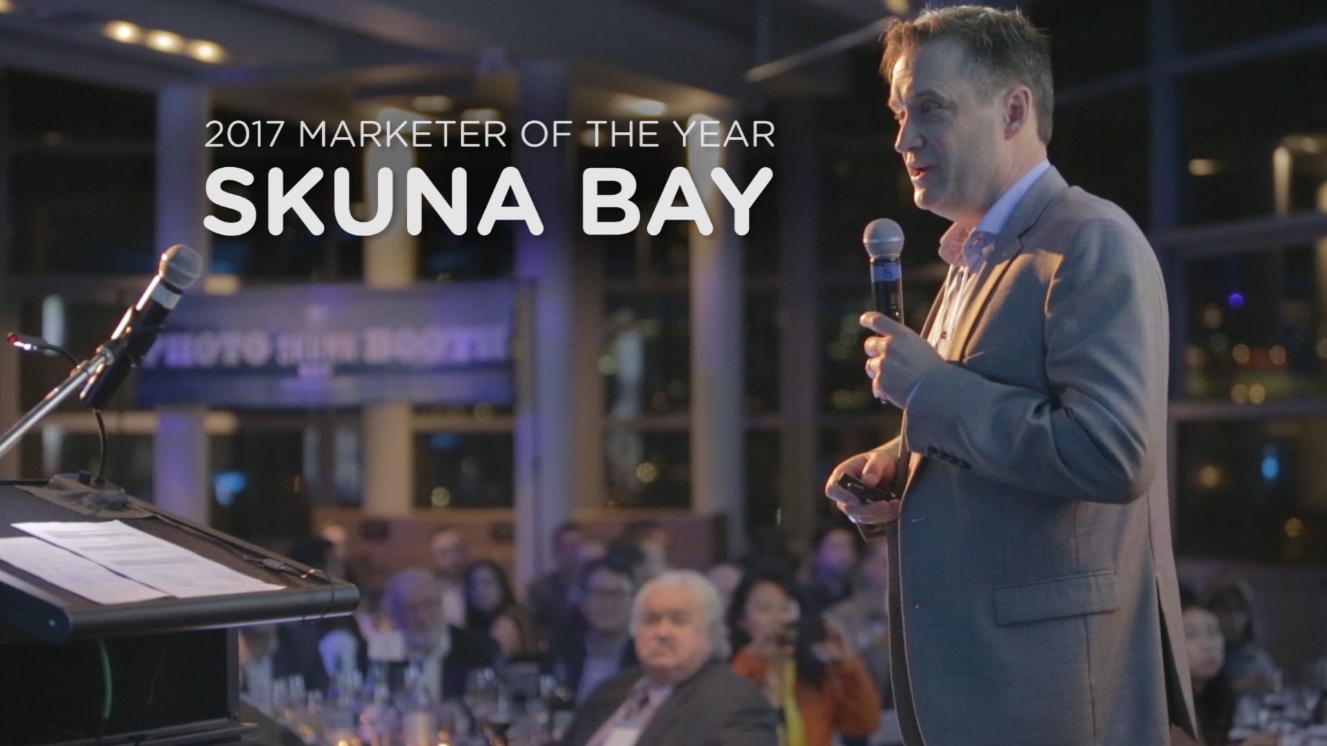 Video: 2017 Marketer of the year - Skuna Bay