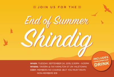 End of Summer Shindig