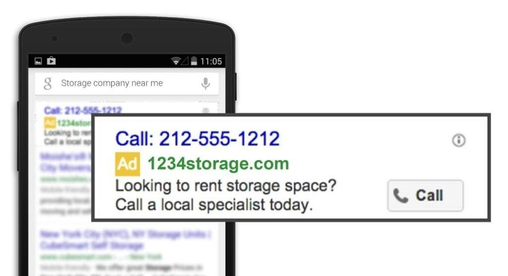 Google Ads Call-Only Campaign Image